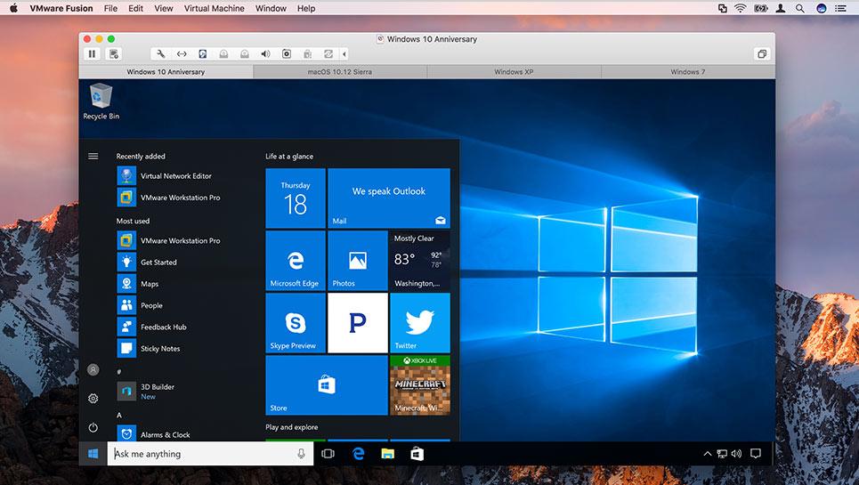 VMware Fusion Pro v8.5.8 Build 5824040 多语言中文注册版附注册码-Mac平台最强大虚拟机