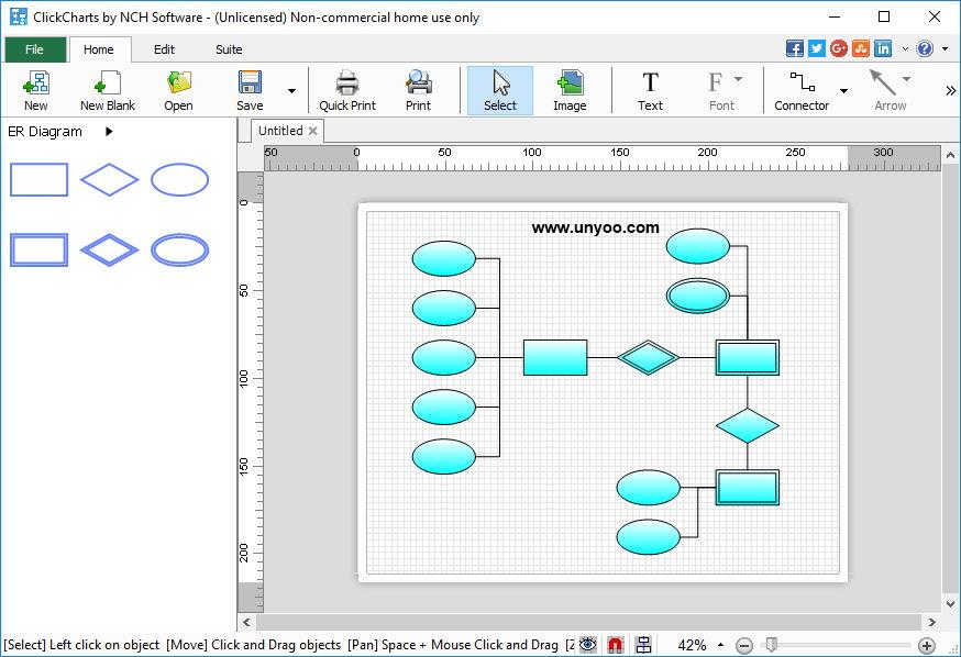 ClickCharts v3.14 Win/Mac 多语言正式版-流程图设计制作