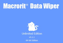 Macrorit Data Wiper 3.1.2 + Portable x86/x64 注册版附注册机-数据彻底清除工具-联合优网