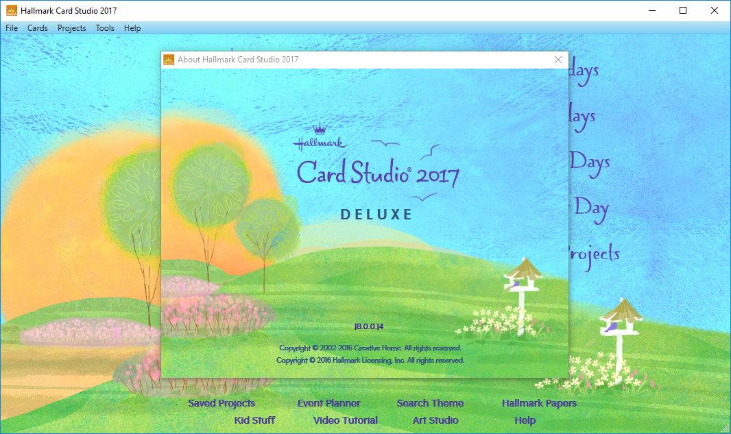 Hallmark Card Studio 2017 Deluxe 18.0.0.14 注册版-贺卡设计软件