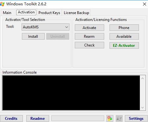 Microsoft Toolkit 2.6.2正式版-Win10/Office2016激活