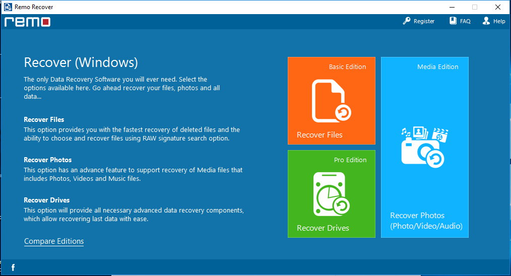Remo Recover Windows 4.0.0.64 x86/x64 注册版-数据恢复工具