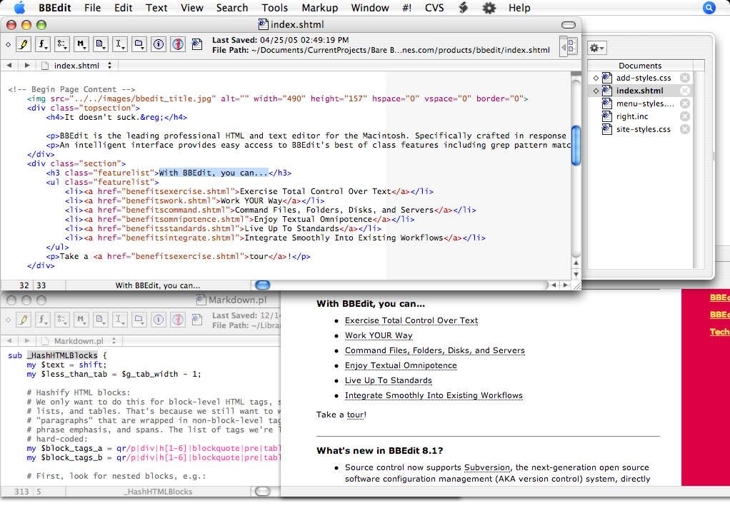 BBEdit 11.6.2 MacOSX 注册版附注册码-HTML文本代码编辑器