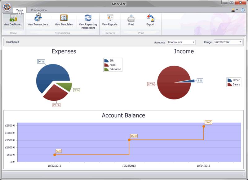 MoneyFox 6.1 注册版-个人财务管理软件
