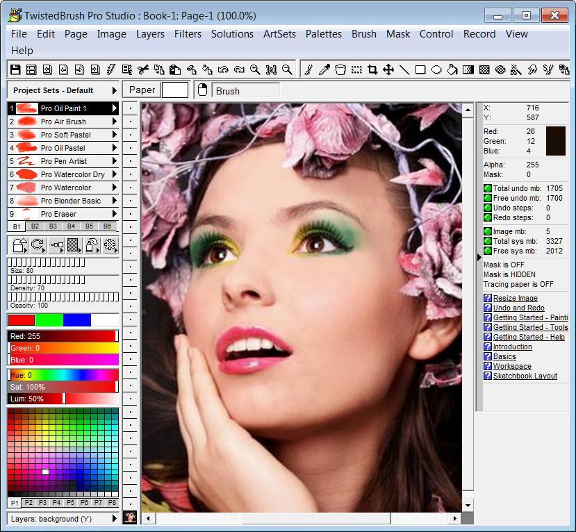 TwistedBrush Pro Studio 23.01 注册版附注册机-数字图像软件