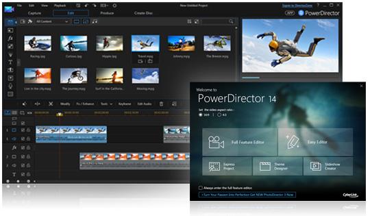 威力导演 14极速效能 最弹性化的视频创作软件-轻松打造家庭珍藏视频