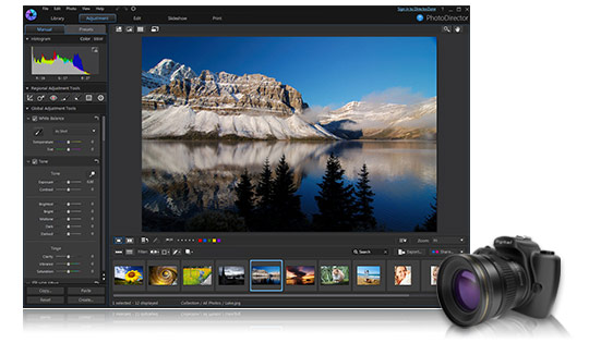 相片大师 7专业级视频编辑及创作软件-专业级相片编辑及创作