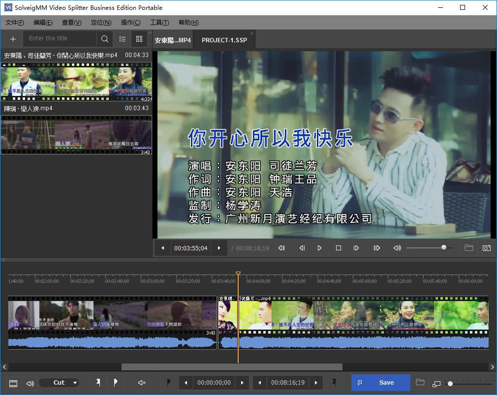 SolveigMM Video Splitter Business Edition 6.1.1705.12 + Portable 多语言中文注册版-视频分割工具