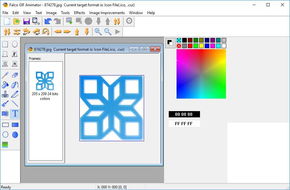Falco GIF Animator 4.5 注册版-GIF动画创作编辑工具