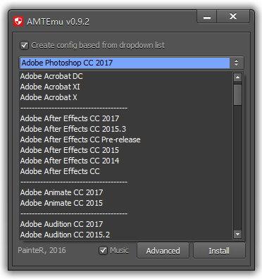 AMTEmu v0.9.2/v0.8.1 Win/Mac 正式版最新版-Adobe通用破解激活工具