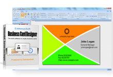 Business Card Designer 5.10 注册版-名片设计系统-联合优网