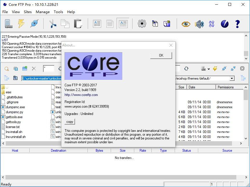 Core FTP Pro v2.2 Build 1909 x86/x64注册版附注册码-FTP客户端