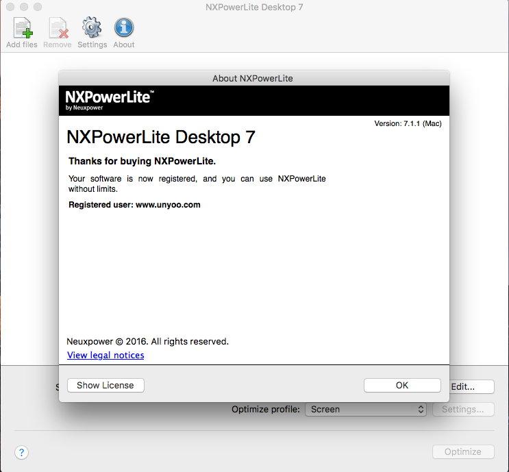 NXPowerLite Desktop Edition v9.0.3/8.0.11/8.0.7 Win/Mac多语言中文注册版-文件压缩工具