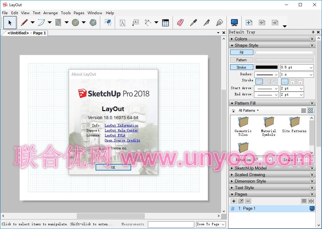 SketchUp Pro 2019 v19.3.253 x64 多语言注册版-草图大师
