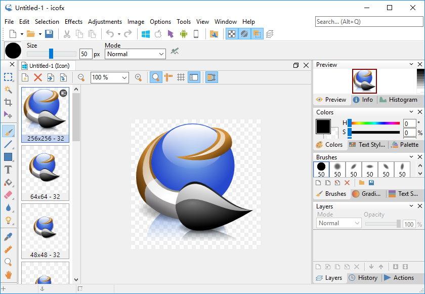 IcoFX v3.3 + Portable 多语言注册版-图标编辑工具