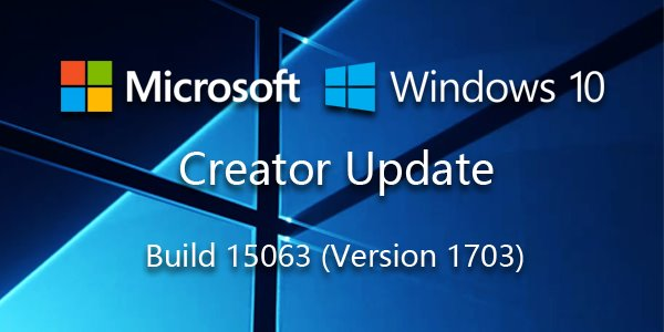 Windows 10 创意者更新正式版RTM日期及ESD镜像曝光(附下载地址)