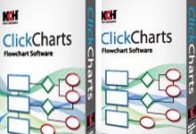 ClickCharts v3.14 Win/Mac 多语言正式版-流程图设计制作-联合优网