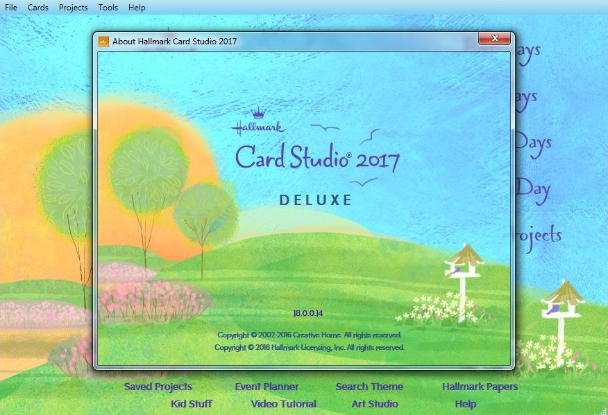 Hallmark Card Studio 2017 Deluxe v18.0.0.16 注册版-贺卡设计工具