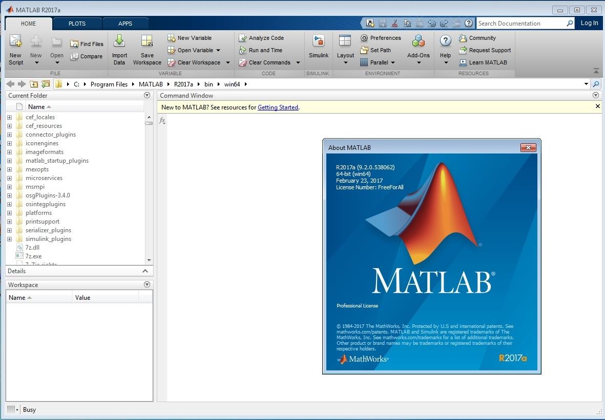 MathWorks MATLAB R2017b x64 Win/Mac/Linux 注册版-科学计算系统