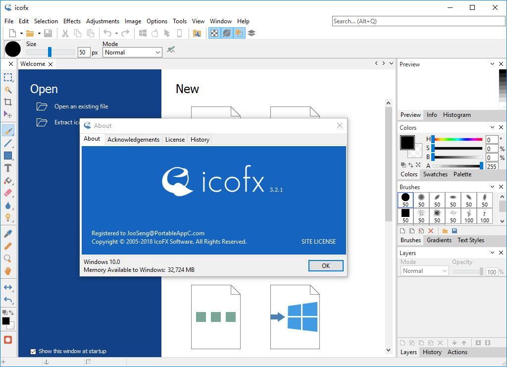 IcoFX v3.4 + Portable 多语言注册版-图标编辑工具