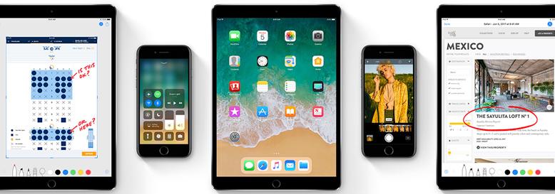 iOS 11 For iPhone/iPad/iPod正式版IPSW固件直接下载