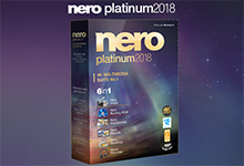 Nero Platinum 2018 Suite v19.0.10200+ContentPack 多语言中文注册版-4K多媒体套件-黄色在线手机视频