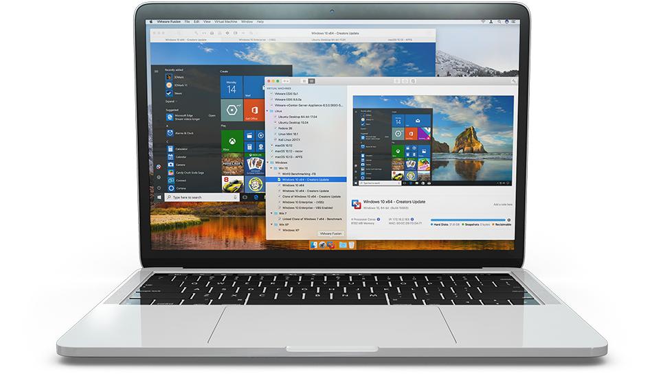 VMware Fusion Pro v10.1.3 Build 9472307 多语言中文正式注册版