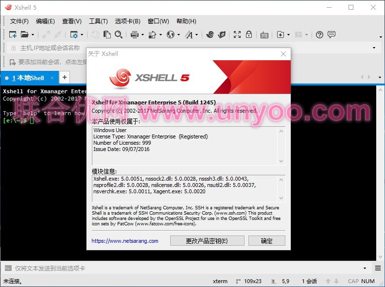Xmanager Enterprise 5.0 Build 1245 多语言中文注册版