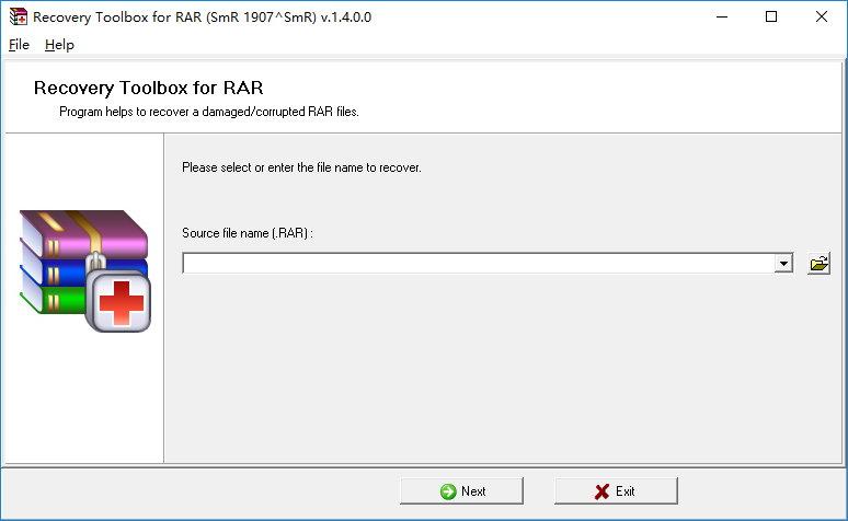 Recovery Toolbox for RAR v1.4.0.0 注册版-RAR文件修复工具