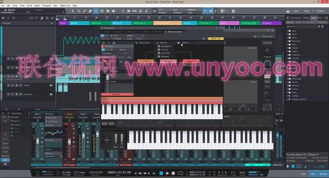 PreSonus Studio One Pro v3.5.3.45314 x86/x64 注册版-音频编辑