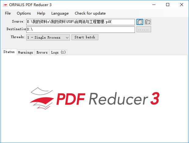 ORPALIS PDF Reducer Pro v3.0.20 注册版-实用的PDF文件优化工具