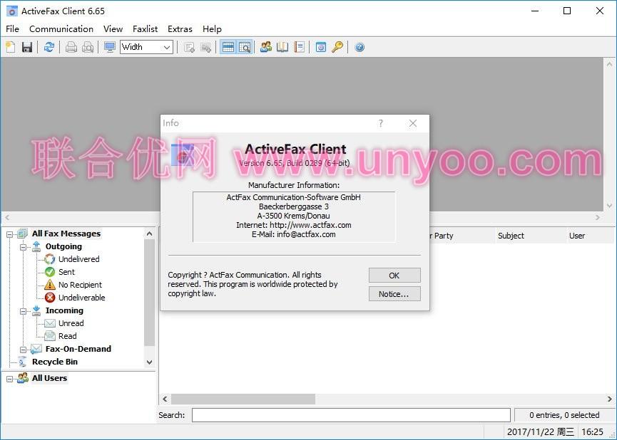 ActiveFax Server 6.65 Build 0289 Final x86/x64 正式注册版-电脑传真服务器