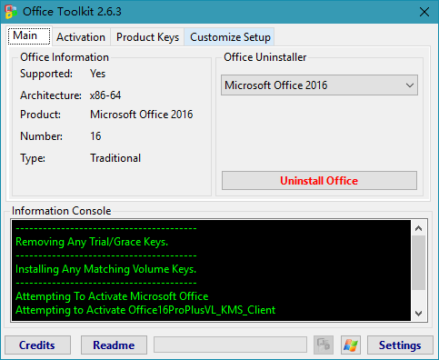 Microsoft Toolkit v2.6.3 Final 正式版-Windows/Office激活工具