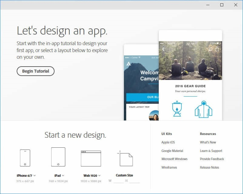 Adobe XD CC v27.0.12 for Win 正式注册版-全新UX设计工具