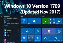 Windows 10 Version 1709 (Updated Nov 2017) 创意者秋季更新版RS3正式版ISO镜像-简体中文/繁体中文/英文-联合优网