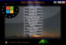 KMS Tools Portable 15.01.2019/KMSAuto Lite 1.5.0 多语言便携版-KMS激活工具-联合优网