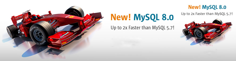 MySQL v8.0.11 Win/Mac 正式版- 开源数据库软件-比MySQL 5.7快2倍