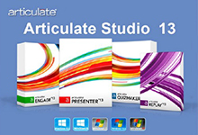 Articulate Studio 13 Pro v4.10.0.0 多语言注册版-课件制作工具-联合优网