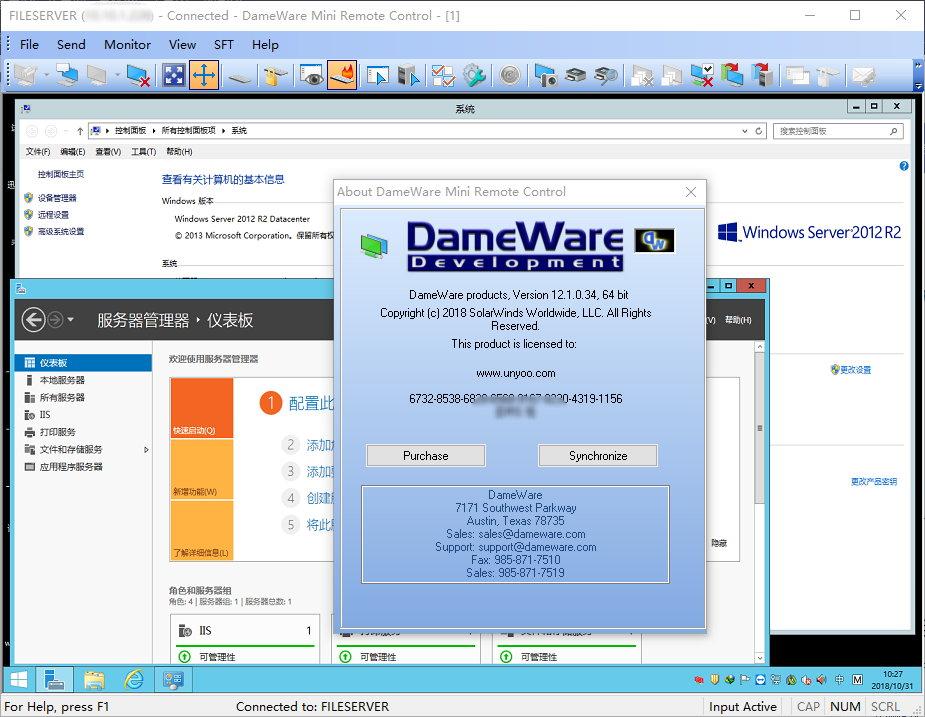 DameWare Mini Remote Control v12.1.2.584 x86/x64 注册版附注册机