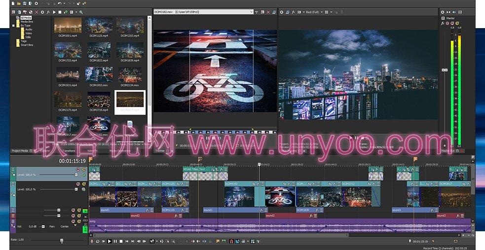 Vegas Pro 16 v16.0.0.248 多语言中文注册版-专业视频编辑