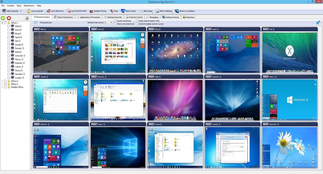 EduIQ Classroom Spy Professional v4.4.13 注册版-课堂远程管理与控制
