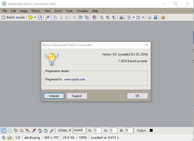 Advanced Batch Converter v8.0 多语言注册版-图形转换工具