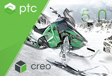 PTC Creo v5.0.5.0 x64 多语言中文注册版-2D&3D设计软件-【四虎】影院在线视频