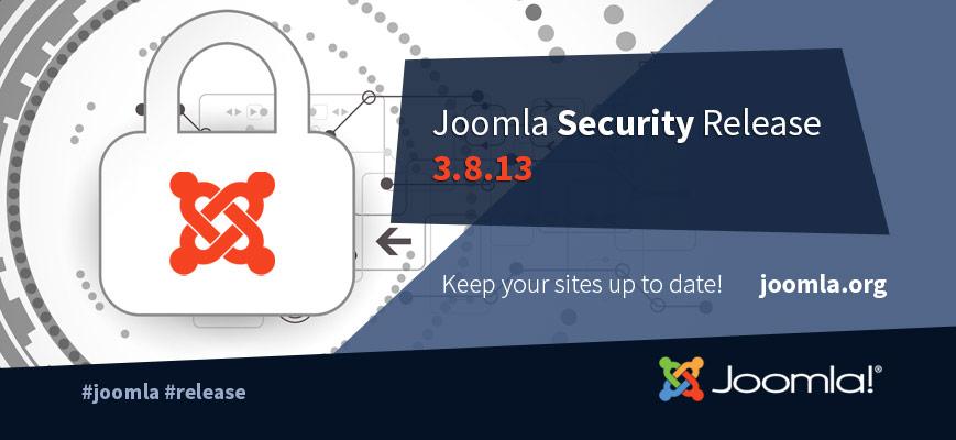 Joomla v3.8.13 正式版-开源PHP CMS内容管理系统