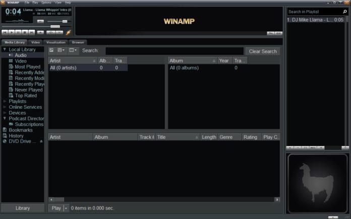 Winamp v5.8正式版-老牌音乐播放器-改善Win10/8.1的兼容性
