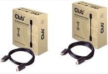 HDMI 2.1标准发布一年 Club3D首发超高速48Gbps线缆数据线-支持10K-联合优网