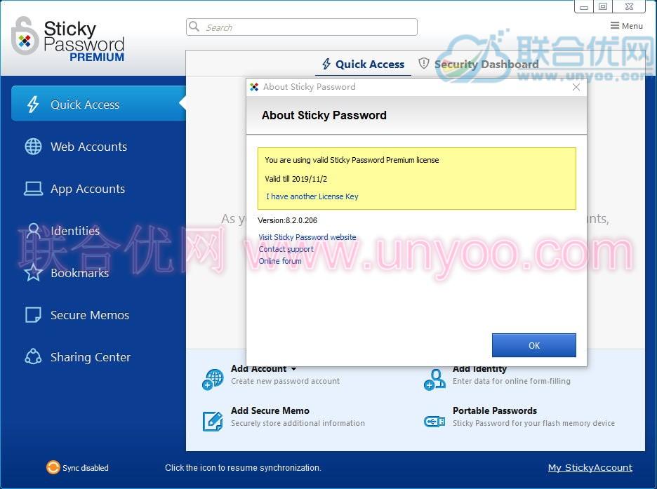 Sticky Password Premium v8.2.1.226 多语言注册版-密码管理软件