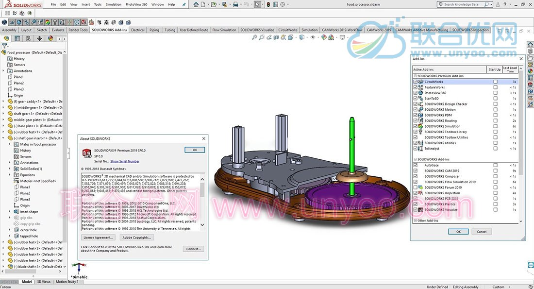 SolidWorks 2019 SP0 Win x64 多语言中文正式注册版
