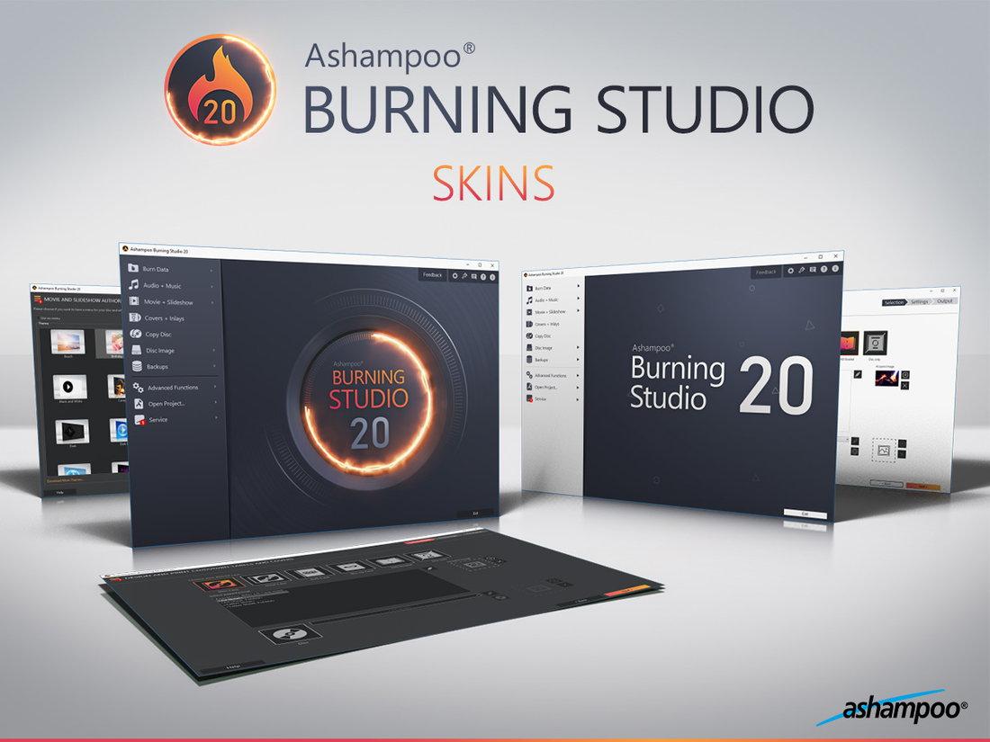 Ashampoo Burning Studio v20.0.2.7 多语言中文注册版-光盘刻录