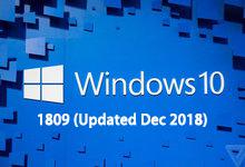 Windows 10 version 1809 (Updated Dec 2018) RS5 正式版MSDN ISO镜像-简体中文/繁体中文/英文-联合优网